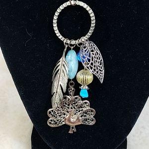 Vintage Peacock Necklace